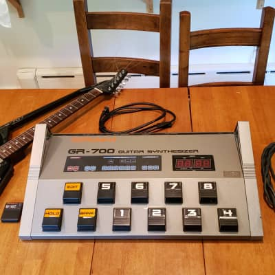Roland G-707 with GR-700 pedal and M-16C Memory Card