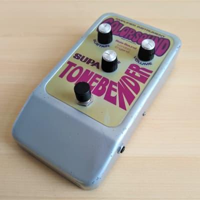 Colorsound Supa Tonebender Fuzz, Rare Vintage 1970s Guitar Pedal for sale