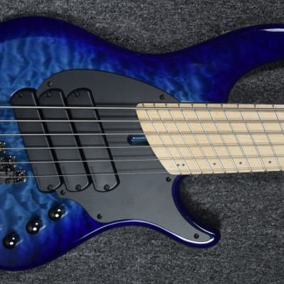 Dingwall Combustion 3 (6-String), Indigo Burst with Maple *On Order ETA = December 2020 for sale