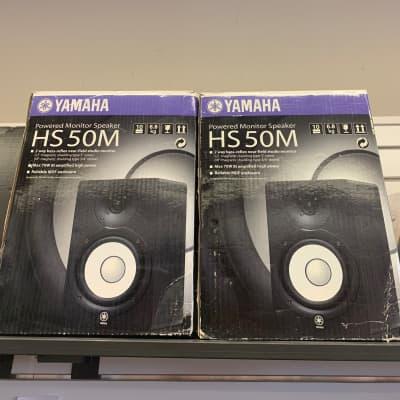 Yamaha HS50M Powered Studio Monitor (Pair)