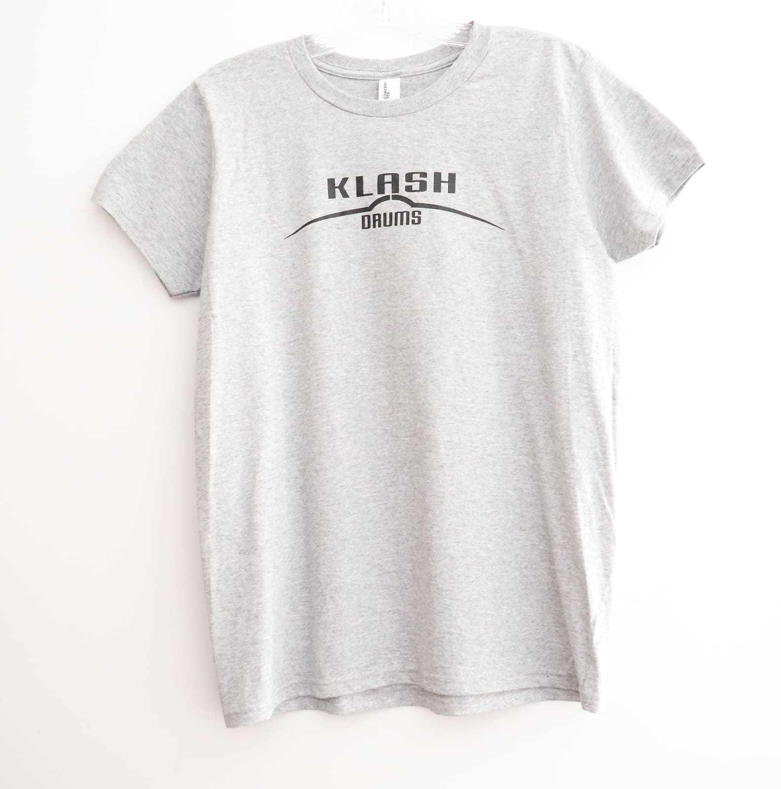 Klash Drums Female T Shirt Grey