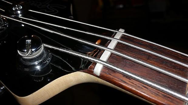 Squier Vintage Modified Jaguar Bass Special Bone Nut Reverb