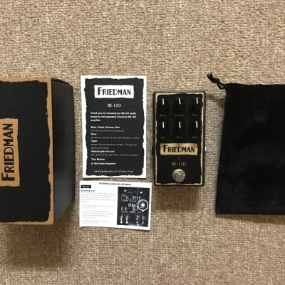 Friedman BE-OD Overdrive 2010s Black