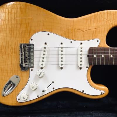 Fender Foto Flame Stratocaster MIJ for sale
