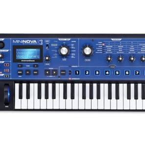 Novation MiniNova Analog Modeling Synthesizer