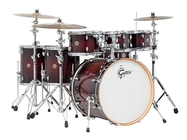gretsch drums catalina maple shell pack 7 pc deep cherry reverb. Black Bedroom Furniture Sets. Home Design Ideas