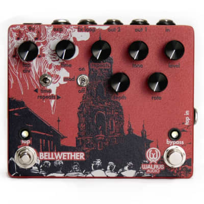 Walrus Audio Bellwether Analog Delay Guitar Effect Pedal with Tap Tempo