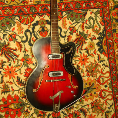 Musima 1655 1960s Sunburst for sale