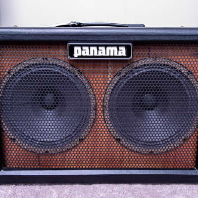 Panama Guitars 2x10 Oversized Guitar Cab (Closed back) - *WGS G10C Speakers* - 2018 Black for sale
