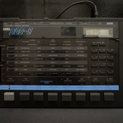 KORG DDD-5 Vintage 80s Dynamic Digital Programable Drum Machine