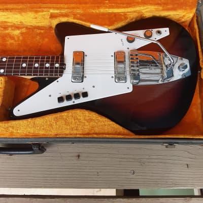 Vintage 1960's Galanti Grand Prix Electric Guitar w/ Original Hardshell Case! for sale