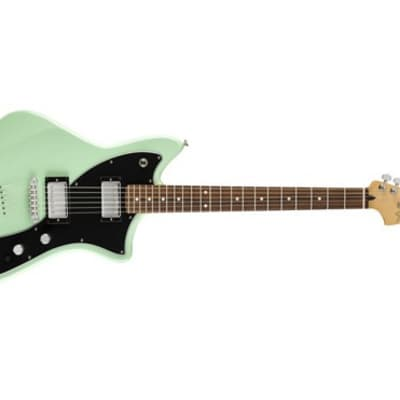 Fender Limited Edition Alternate Reality Meteora HH Electric Guitar (Surf Green)