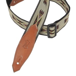 "Levy's MSSN80-TAN Signature Series 2"" Southwest Navajo Print Guitar Strap"
