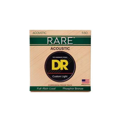 DR Strings Rare RPML-11 11-50 Acoustic Strings