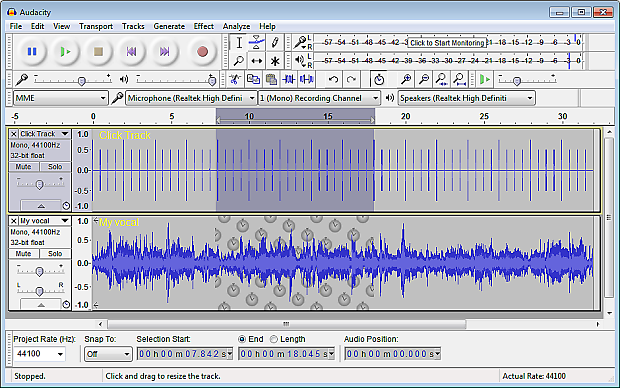 Audacity - Audio Editor and Recorder