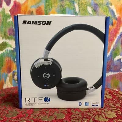 Samson RTE 2 Stereo Wireless Bluetooth Headphones- UNOPENED-UNUSED-MINT! FREE SHIPPING!