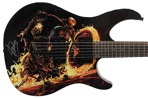 peavey marvel ghost rider predator electric guitar signed by reverb. Black Bedroom Furniture Sets. Home Design Ideas
