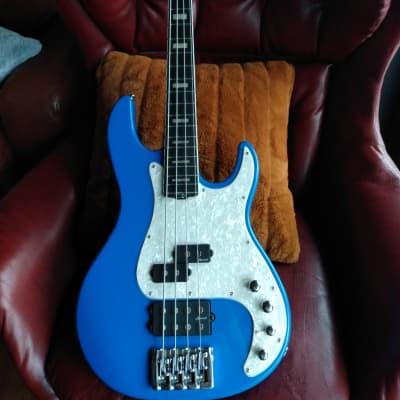 Harley Benton Enhanced MP-4EB Lake Blue for sale