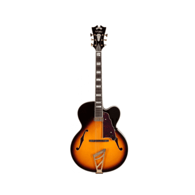 D'Angelico EXL-1 Vintage Sunburst Archtop  Hollow Body