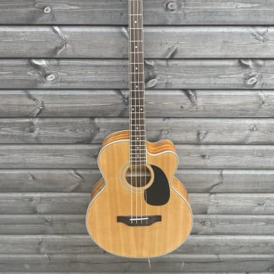 Brunswick Electro Acoustic Bass Guitar - Natural for sale