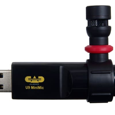 CAD Audio U9 USB Miniature Cardioid Microphone
