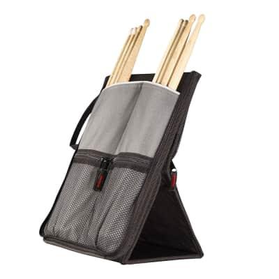 Sabian SSF11 Stick Flip Standing Drum Stick Holder Stage Bag Stand Black Grey