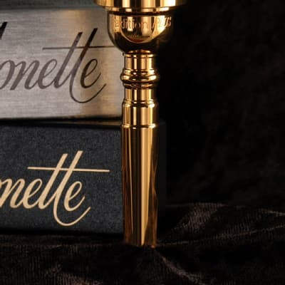 Monette Tradition PLUS Trumpet Mouthpiece Gold Plate 2