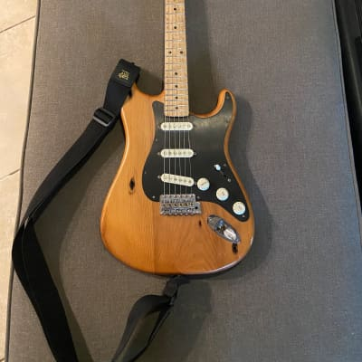 Fender Limited Edition Exotic Collection American Vintage '59 Pine Stratocaster Natural 2017