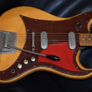 Fenton Weill Guitar 1961 Natural for sale