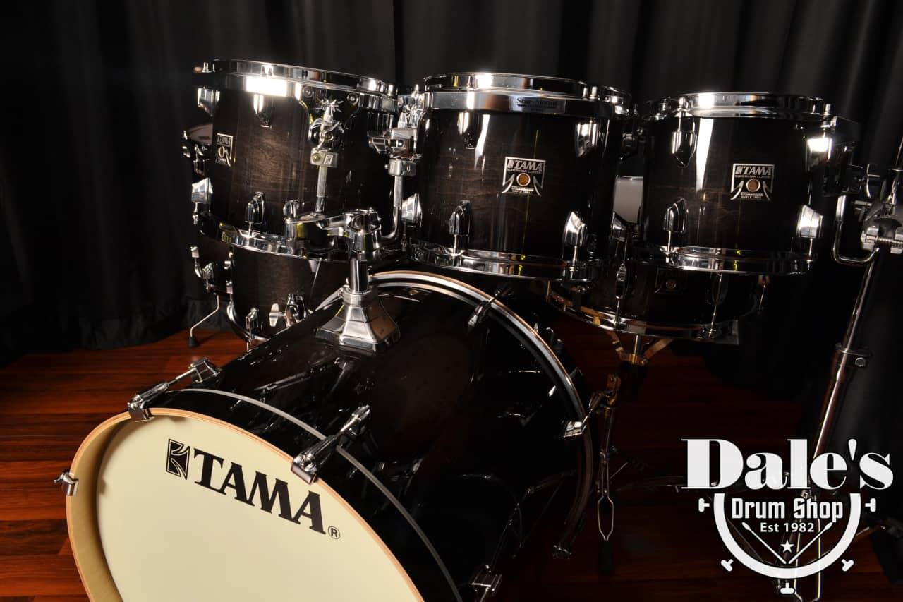 Tama drums set Superstar Classic Maple Transparent Black ...