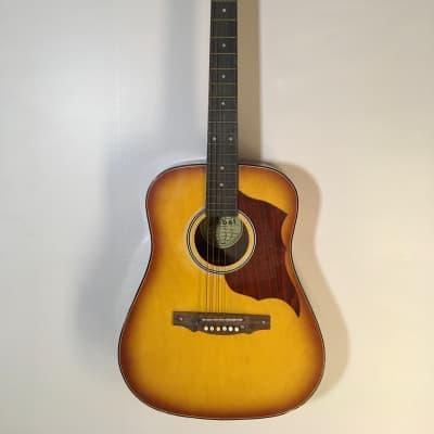 Global #433 Acoustic Guitar Vintage Natural for sale