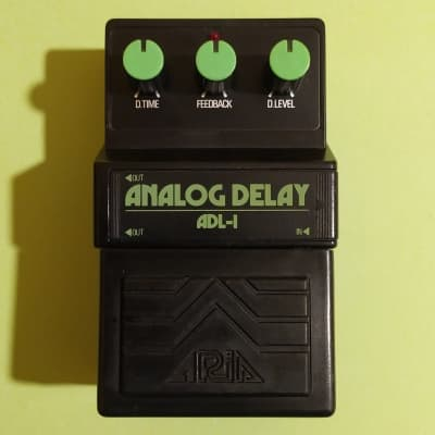 Aria ADL-1 Stereo Analog Delay near mint w/catalog - MN3205 - made in Japan
