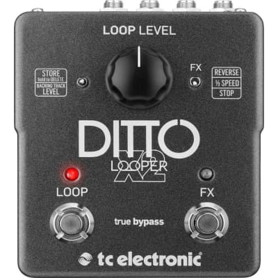 TC Electronic Ditto X2 Looper Pedal for sale