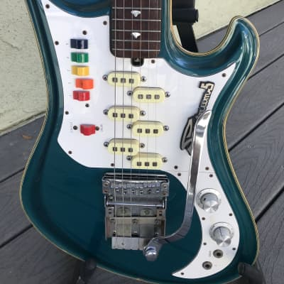 Teisco Spectrum 5 - 90's - Blue for sale