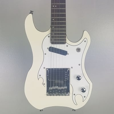 Used Stenzler ZZ Ryder Electric Guitar, White for sale