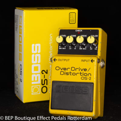 Boss OS-2 Overdrive/Distortion 1993 s/n FE92755