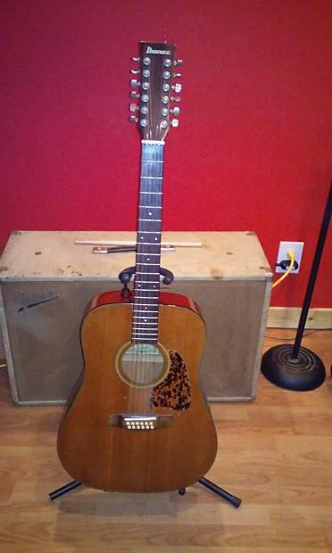make an offer 1970 39 s vintage ibanez aw25 12 string acoustic reverb. Black Bedroom Furniture Sets. Home Design Ideas