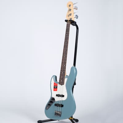 Fender American Pro Jazz Bass - Rosewood, Sonic Gray, Left for sale