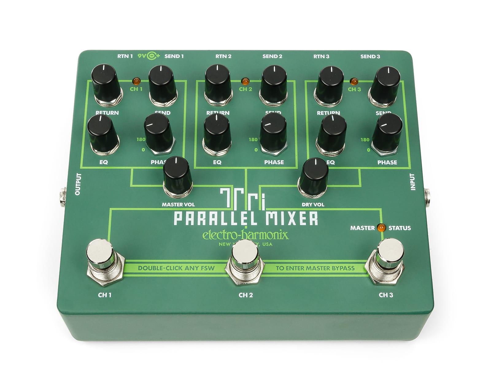 Electro-Harmonix EHX Tri Parallel Mixer Effects Loop Mixer / Switcher Pedal