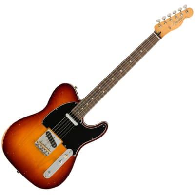 Fender Jason Isbell Custom Telecaster - RW - 3-Colour Chocolate Sunburst for sale