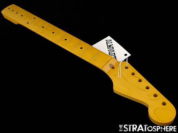 new fender lic allparts stratocaster neck strat guitar maple reverb. Black Bedroom Furniture Sets. Home Design Ideas