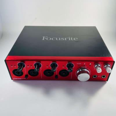 Focusrite Clarett 4Pre Thunderbolt Audio Interface *Sustainably Shipped*