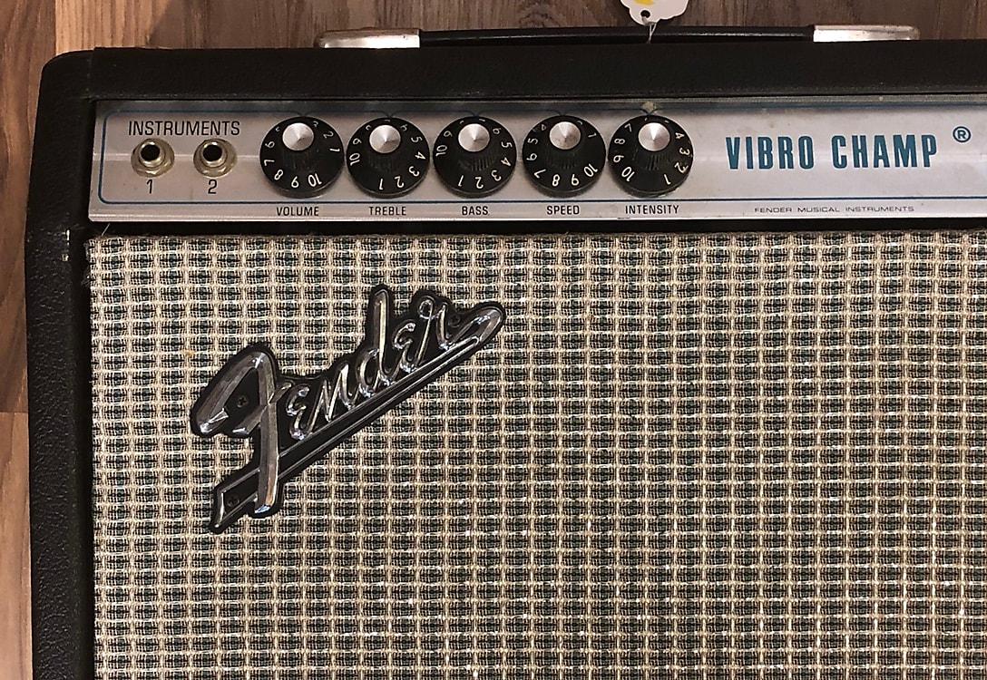 Fender Vibro Champ 5w Combo 1967-1981 Silverface