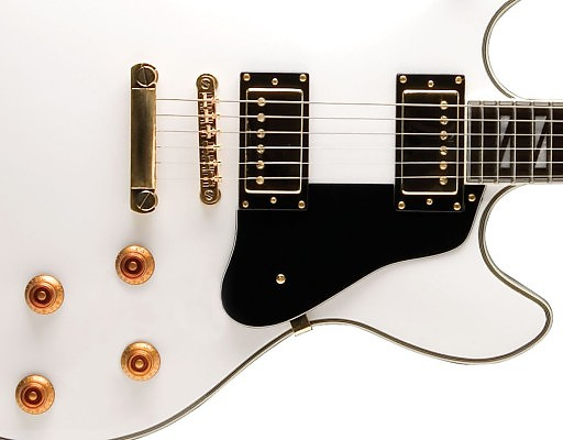 washburn hb45whk hollowbody electric guitar in white with reverb. Black Bedroom Furniture Sets. Home Design Ideas