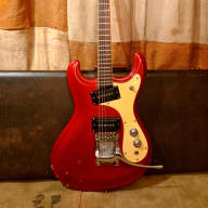 Mosrite Ventures 1966 Candy Apple Red for sale