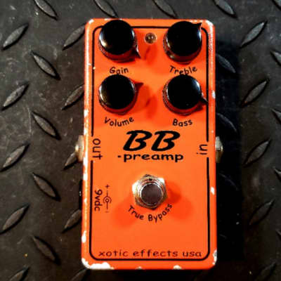 Xotic Effects BB Preamp Overdrive early version (more compression) FREE SHIPPING image