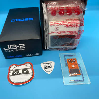 Boss JB-2 JHS Angry Driver Overdrive | New in Box | Fast Shipping!