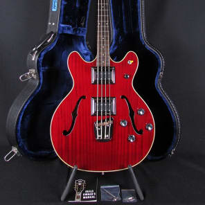 Brand New Guild Starfire II in Cherry Red Semi-Hollow Bass BiSonic Pickups w/Hardcase & Warranty! for sale