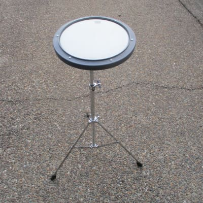 Remo Large Drum Rudiment Practice Pad W/ Remo Dynamax Stand - Excellent!