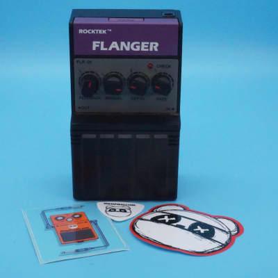Rocktek Fl-01 Flanger   Rare 1980s   Fast Shipping!